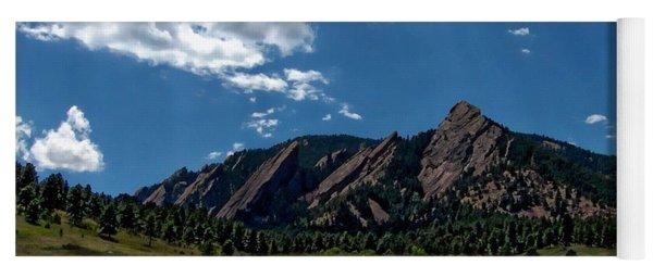 Colorado Landscape Yoga Mat