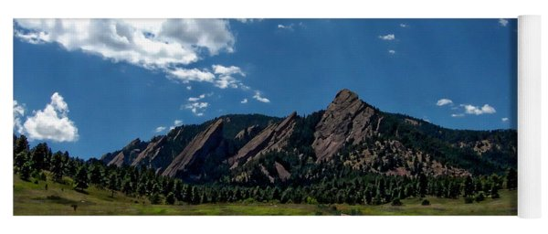 Colorado Landscape Yoga Mat