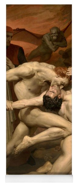 Dante And Virgil In Hell  Yoga Mat