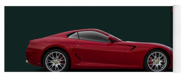 Ferrari 599 Gtb Yoga Mat