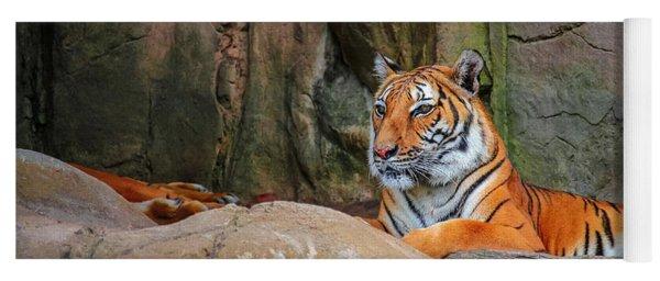 Fort Worth Zoo Tiger Yoga Mat