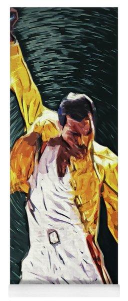 Freddie Mercury Yoga Mat