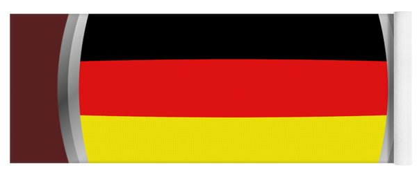 Germany Flag Yoga Mat