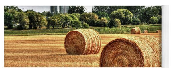 Hay Making Time Yoga Mat
