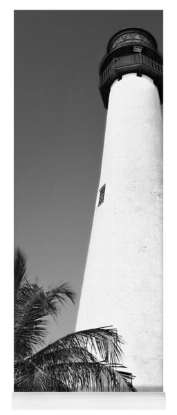 Key Biscayne Lighthouse Yoga Mat