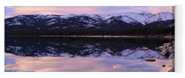 Lake Tahoe Rocks Yoga Mat