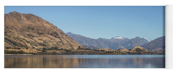 Lake Wanaka In New Zealand Yoga Mat
