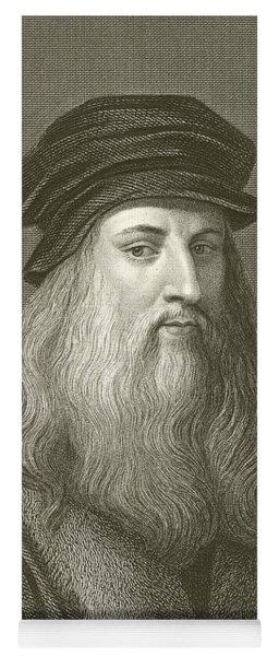 Leonardo Da Vinci Yoga Mat