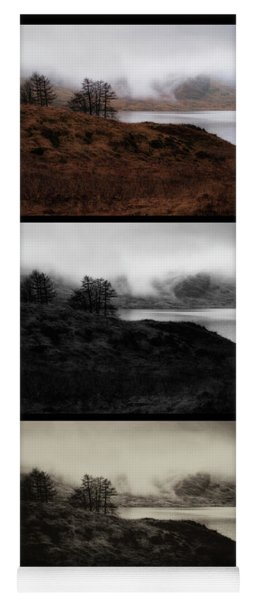 Yoga Mat featuring the photograph Loch Arklet by Jeremy Lavender Photography