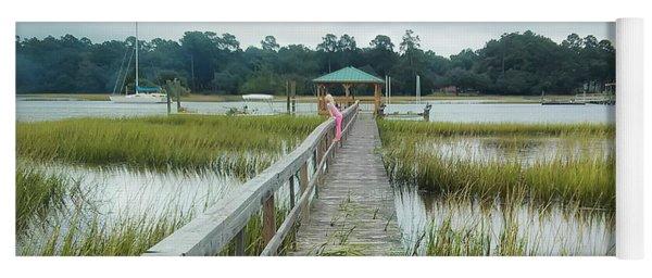 Lowcountry Dock Yoga Mat