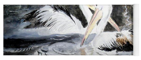 2 Mate Pelicans Yoga Mat