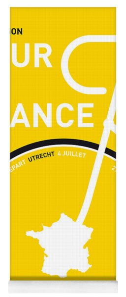 My Tour De France Minimal Poster Yoga Mat