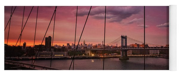 New York City - Sunset Yoga Mat