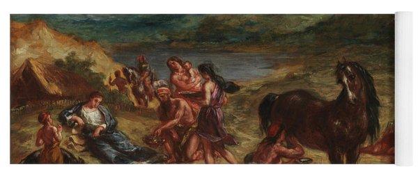 Ovid Among The Scythians Yoga Mat