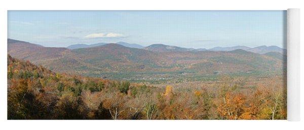 Panoramic View Of Crawford Notch State Yoga Mat