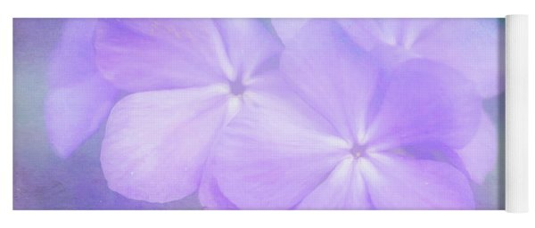 Phlox In The Evening Light Yoga Mat