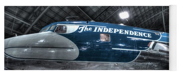 Presidential Aircraft, Douglas, Vc-118, The Independence  Yoga Mat