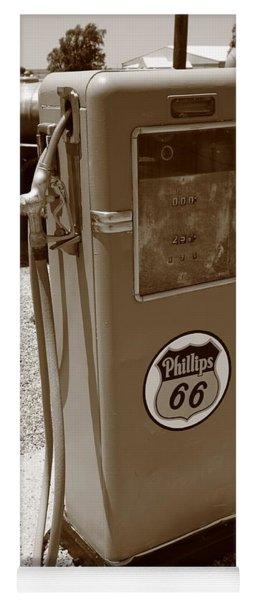 Route 66 Gas Pump Yoga Mat