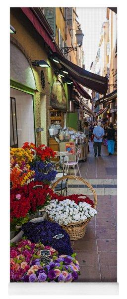 Rue Pairoliere In Nice Yoga Mat