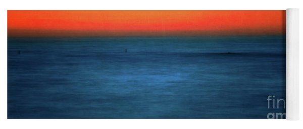 Santa Monica Sunset 1 Yoga Mat