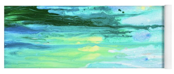 Sea Meets Land Yoga Mat