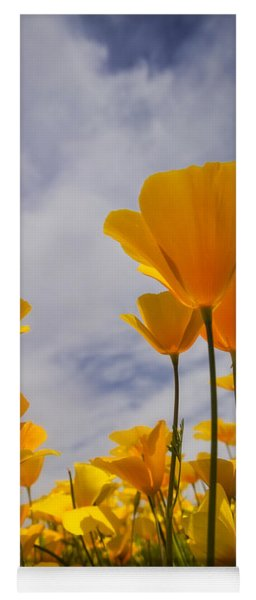 Springtime Poppies  Yoga Mat