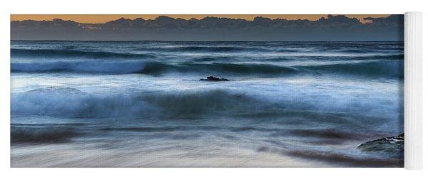 Sunrise By The Sea Yoga Mat