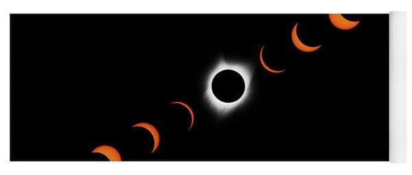 Total Eclipse 2017 Yoga Mat