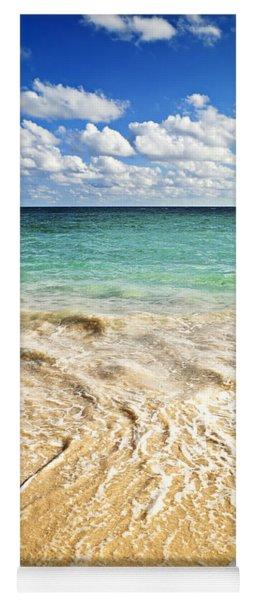 Tropical Beach  Yoga Mat