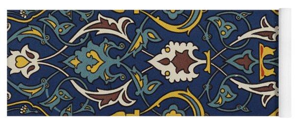 Turkish Textile Pattern Yoga Mat