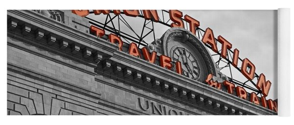 Union Station - Denver  Yoga Mat