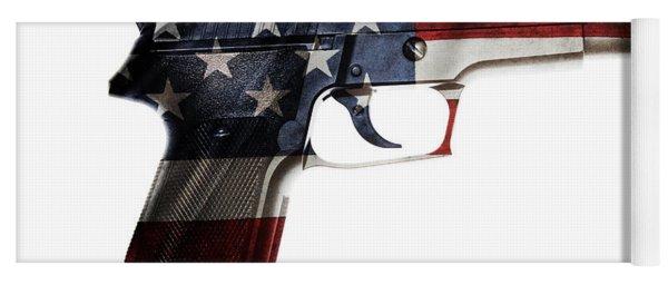 Usa Gun  Yoga Mat