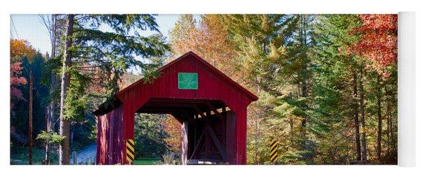 Vermonts Moseley Covered Bridge Yoga Mat