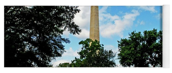 Washington Monument Yoga Mat