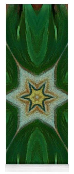 Watercolor Flower Art Yoga Mat
