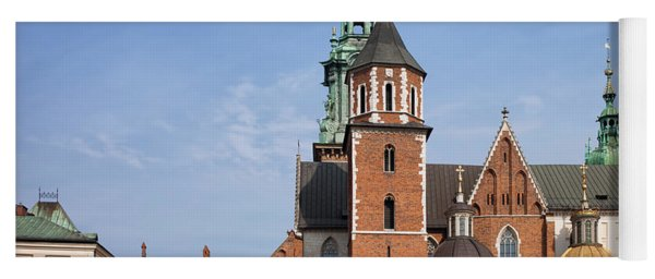 Wawel Cathedral In Krakow Yoga Mat