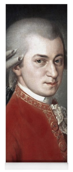 Wolfgang Amadeus Mozart Yoga Mat