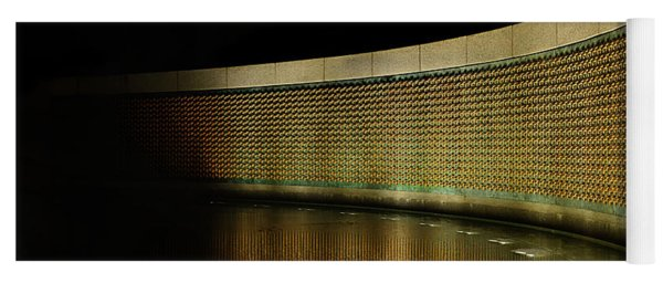 World War II Memorial - Stars Yoga Mat