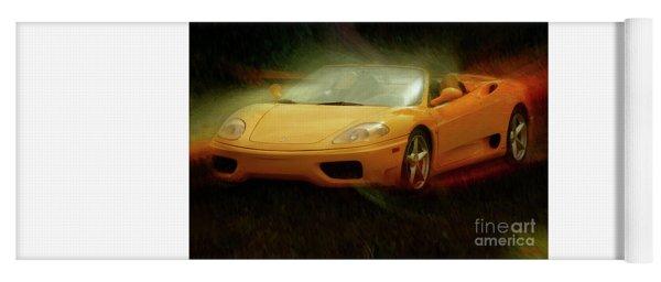 2003 Ferrari 360f1 Yoga Mat