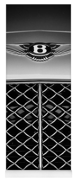 2007 Bentley Continental Gtc Convertible Emblem -2435bw Yoga Mat