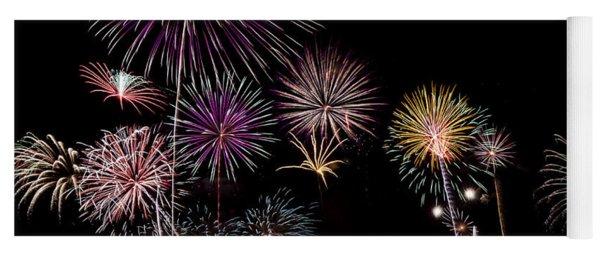 2013 Fireworks Over Alton Yoga Mat
