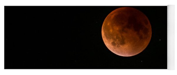 2015 Blood Harvest Supermoon Eclipse Yoga Mat