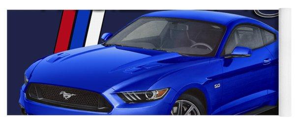 2015 Blue Mustang Yoga Mat