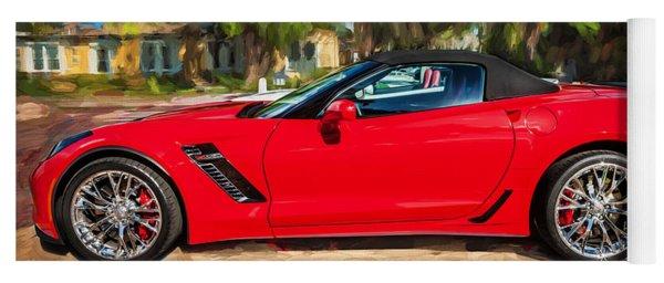 2015 Chevrolet Corvette Zo6 Painted  Yoga Mat