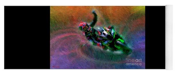 2018 World Superbike Jonathan Rea Victory Punch Yoga Mat