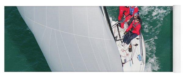 Aerial Key West Yoga Mat