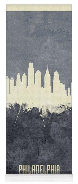 Philadelphia Pennsylvania Skyline Yoga Mat