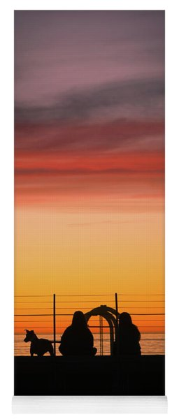22nd St Sunset Yoga Mat