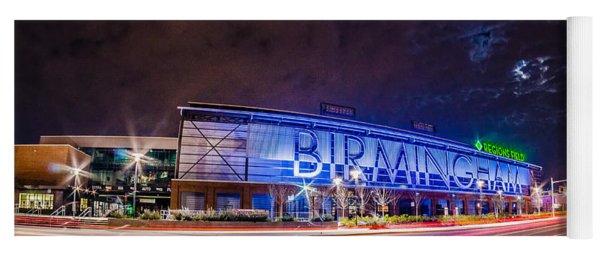 April 2015 - Birmingham Alabama Regions Field Minor League Baseb Yoga Mat