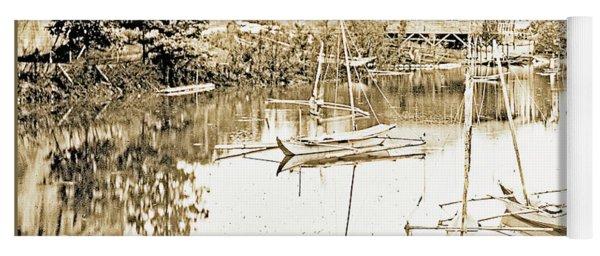 Arrow Head Lake, Philippine Village, 1904 Worlds Fair, Vintage P Yoga Mat